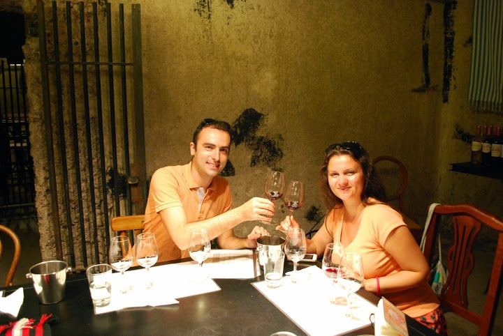 Wine tasting at Benegas winery, Mendoza, Argentina